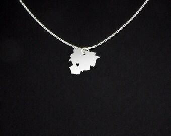 Andorra Necklace - Andorra Jewelry - Andorra Gift