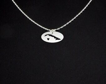 Cuba Necklace - Cuba Jewelry - Cuba Gift