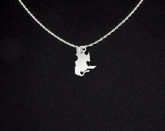 Quebec Necklace - Quebec Gift - Quebec Jewelry