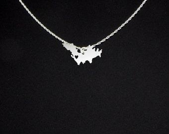 Saint Barthelemy Necklace - Saint Barthelemy Jewelry - Saint Barthelemy Gift
