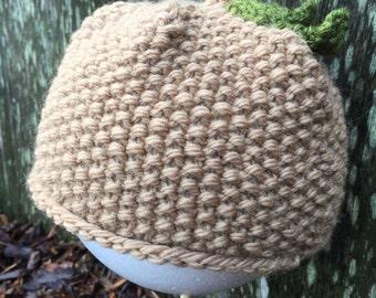 Little Elf Acorn Hat