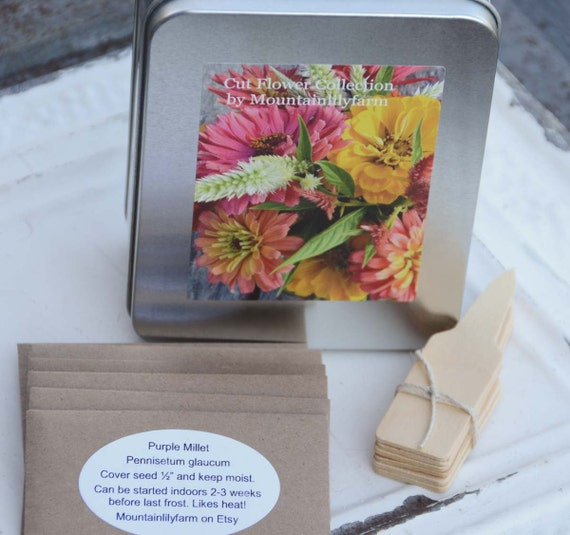 Gardening Gift Flower Seed Kit Cut Flower Garden Seeds