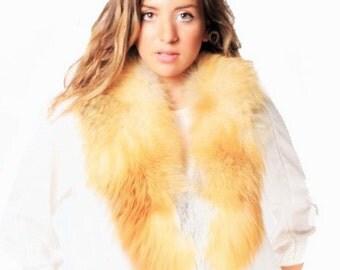 Canadian Red Fox Fur Collar