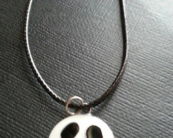 Jack Skellington Leather Choker