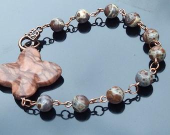 Bracelet - Catholic Rosary - single decade bracelet