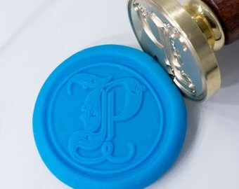 Wax Seal Stamp Set | Gothic Medieval Font - Series 1 | Letter Initial Stamp | Seal Stamp | Wax Stamp