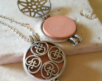 Aromatherapy Necklace, Essential Oil Diffuser Necklace,Terracotta,Diffuser Necklace,Aromatherapy Jewelry,Essential Oil,Aromatherapy,Spa