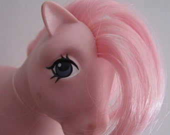 One of the Original Six My Little Ponies ''Cotton Candy'' 1982