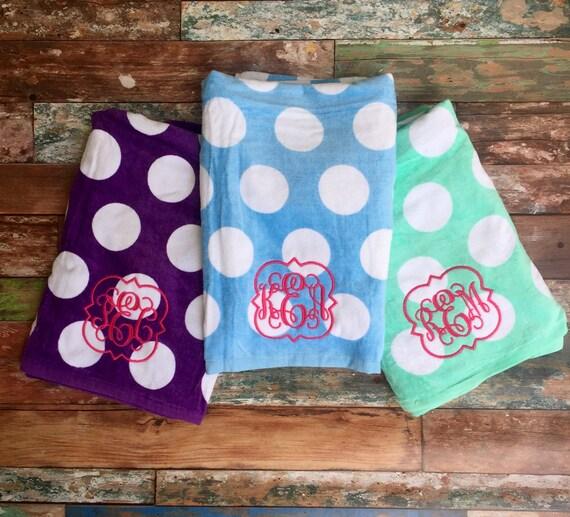 Monogrammed Beach Towels Monogram Beach Towels Beach Towel