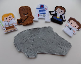 Space Wars Finger Puppets