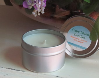 Beeswax Citronella Tin Container Candle