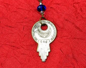 TARDIS Key Necklace No. 3