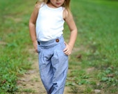 Peppercorn PDF Pattern, Sailor inspired pants and shorts sewing pattern, sizes NB, 3mo, 6mo, 12 mo, 18mo, 2t, 3t, 4t, 5, 6, 7, 8, 10, 12, 14