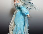 "RESERVED! OOAK - ""SKY"", a One of a Kind Art Doll sculpture by Victoria Mock"