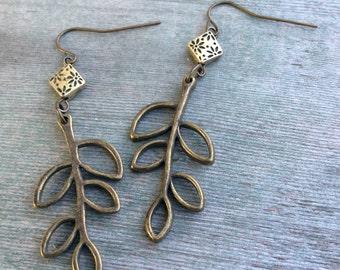 Tree Branch Earrings/Woodland/Hippie/Boho