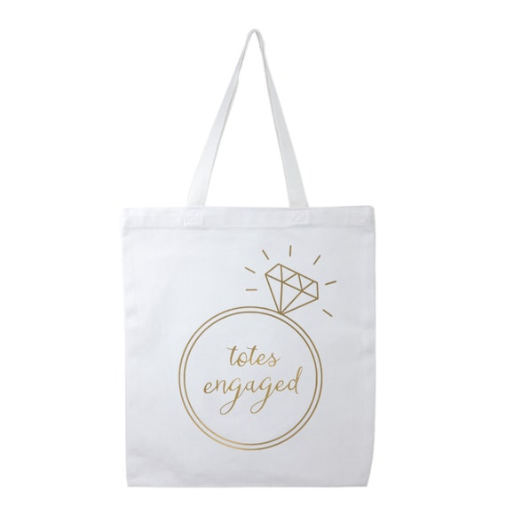 Wedding Guest Gift Bags Uk : Tote Bag, Engagement Gift, Bride Gifts, Wedding Canvas Tote Bags ...