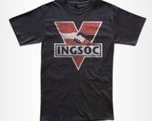 INGSOC T Shirt - Graphic Tees For Men, Women & Children
