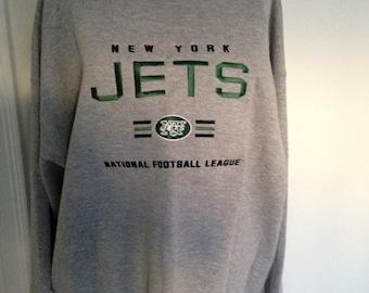 Vintage New York Jets Crewneck Sweatshirt