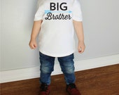 Big Brother with Arrow Baby Bodysuit or Youth T Shirts More Colors Available