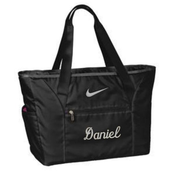 nike tote bag laptop bag personalized large tote by