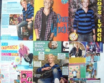 ROSS LYNCH ~ Austin and Ally, Teen Beach Movie, R5, Loud, Pass Me By, Austin Moon ~ Color Clippings, Articles, Pin-Ups for Scrapbooking