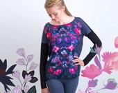 Flower Kaleidoscope – oversize sweatshirt