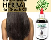 Super Concentrated Herbal Hair Growth Oil, fast Hair Growth Serum, 26 Herbs & oils, Stinging Nettles, Burdock Root; castor oil; Grow Hair