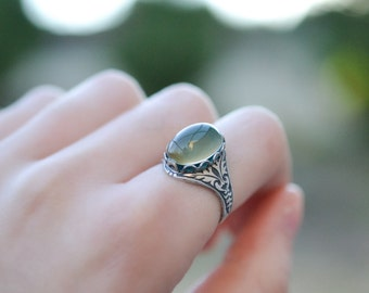 Mood Ring Silver, Color Changing Ring, Gypsy Jewelry, Boho Ring, Gypsy Ring