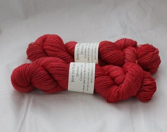 Fez and a Bow Tie, Too Cool Master of My Feet Sock Yarn Fingering Weight Merino/Nylon