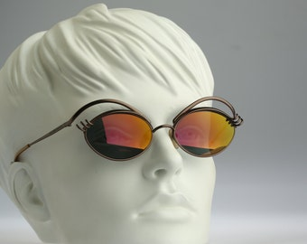 Jean Paul Gaultier 56-6107 Eyes / vintage sunglasses / Lady Gaga style / NOS / 90's No Words Most craziest JPG ever!!