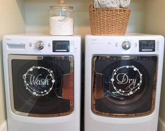 Laundry Room Decals Etsy