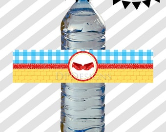 Wizard of Oz Water Bottle Wrappers