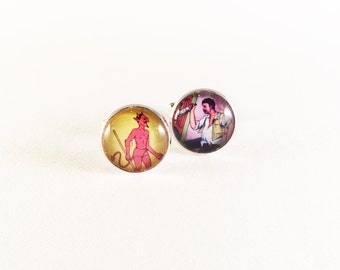 Loteria - Trouble Cuff Links