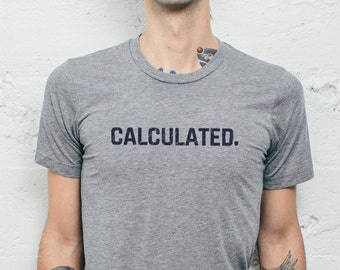 Rocket League Calculated T Shirt Custom Quick Chat Soccer Tee