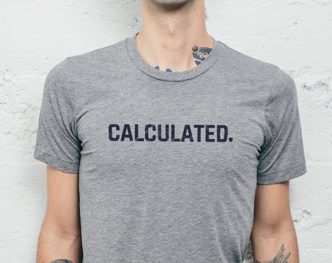 Featured listing image: Rocket League Calculated T Shirt Custom Quick Chat Soccer Tee