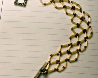 Golden Beaded bracelet