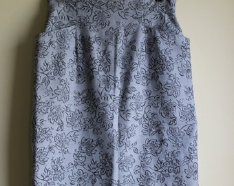 Perfectly Pocketed Light Blue Knee Length Skirt