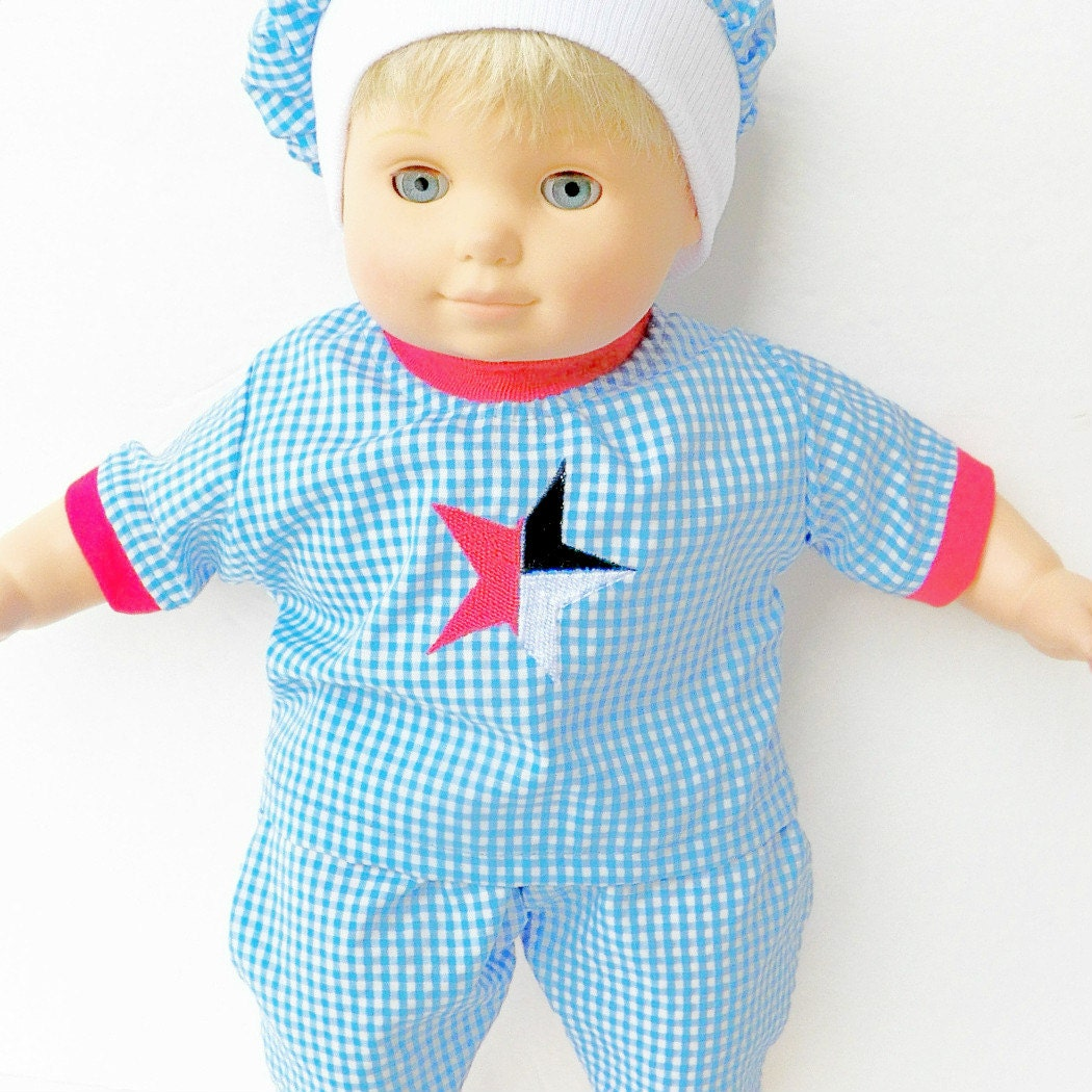 Bitty baby clothes doll boy or 15 twin FREE by ...