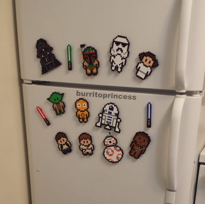 Star Wars Kitchen: Star Wars Magnets Star Wars Decor Star Wars Kitchen Decor