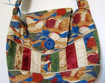 Lucky Duck Quilted Purse