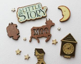 Prima Bedtime Story Veneer Pieces