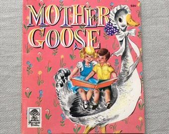 TINY Vintage Mother Goose