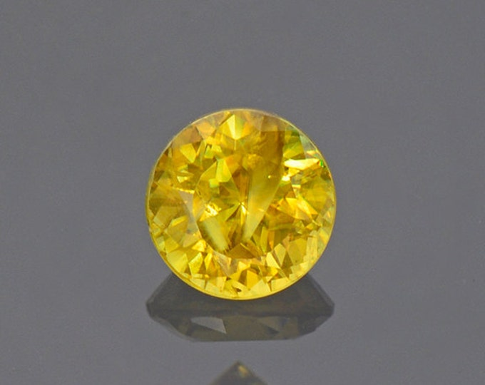 SALE EVENT! Nice Yellow Sphene Titanite Gemstone from Pakistan 0.67 cts.