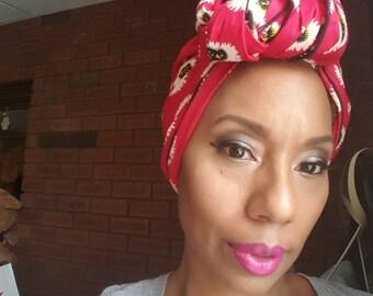N Y O T A African Wax Head wrap