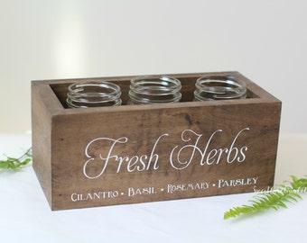 Wooden Herbs Box HD-40
