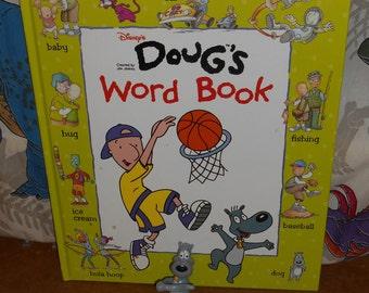 Rare DOUG FUNNIE Word Book & a Pork Chop Toy Figure