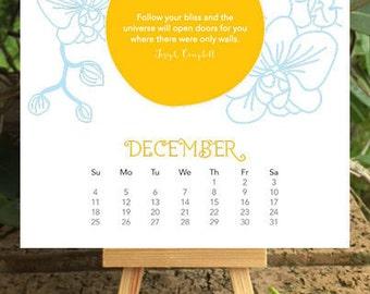 2016 Inspirational Calendar