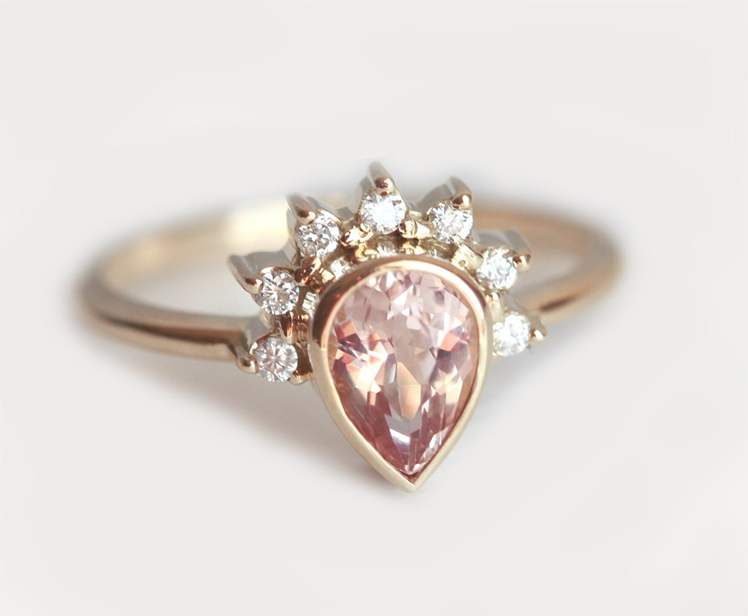 Crown Shaped Engagement Rings