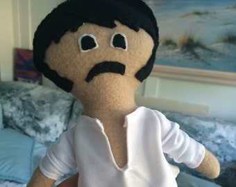 Mr. Darcy plushie with removable shirt