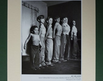 Body Building Print, Available Framed, Muscle Art, Father's Day Gift for Dad Decor, Strongman Wall Art, Heroic Picture, 1940s Photography